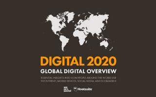 Que nous apprend le Digital Report 2020 ?