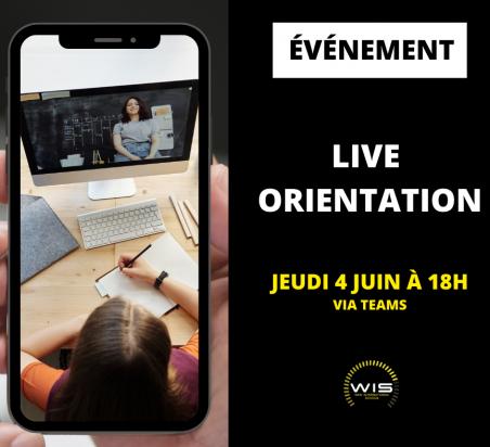 Live orientation: le digital après la terminale !